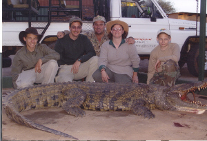 "Dave Noem and Family - 12"" Crocodile"