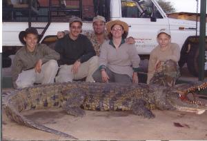 "Dave Noem and Family - 12"" Crocodile"