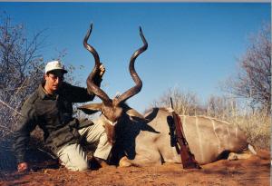 "Dave Noem - 56"" Kudu - Limpopo Province, South Africa"